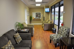 Gray Waiting Room