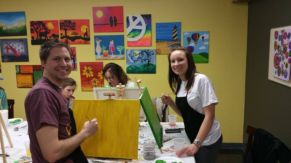 Artists at work!