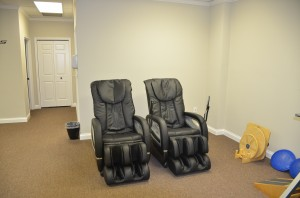 Gray Clinic Massage Chairs