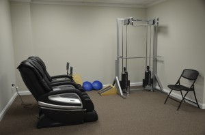 Gray Clinic Massage Chairs